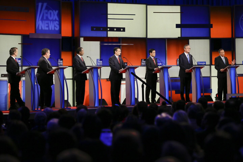 GOP debate in Des Moines