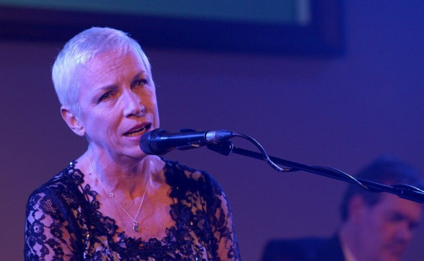 """Annie Lennox has called for ratings on music videos that she thinks amount to """"porn."""""""