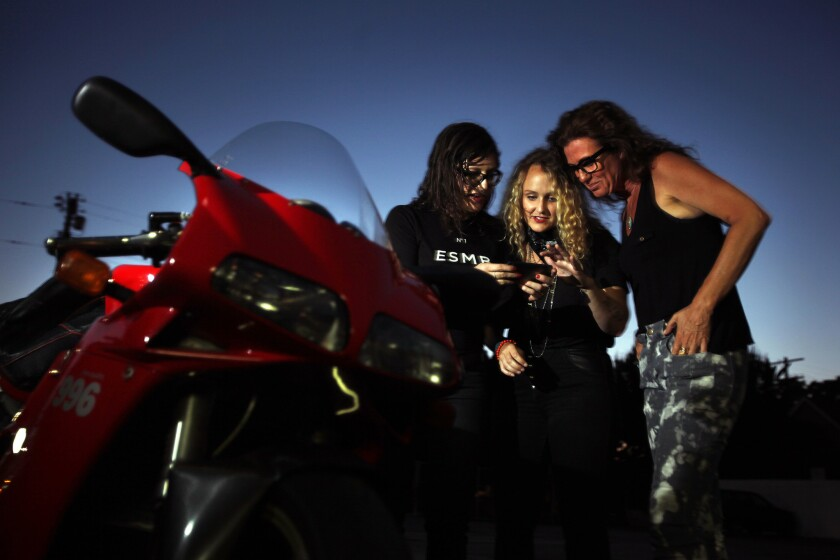More Women Are Riding Motorcycles