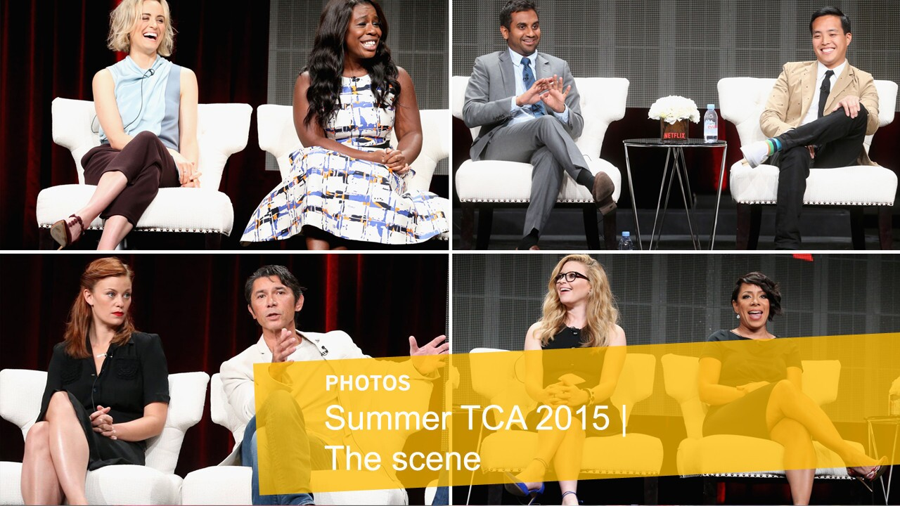 Images from the 2015 summer session of the Television Critics Assn. media tour.
