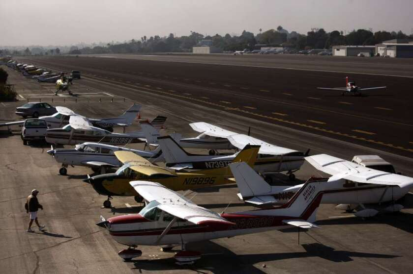 Santa Monica and the federal government have long disagreed about the status of the city's small airport.