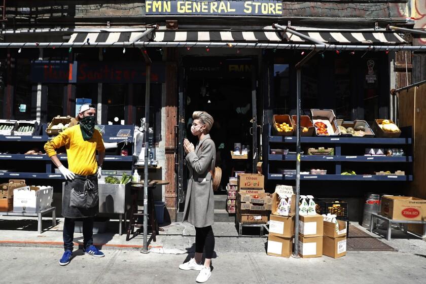 Virus Outbreak Small Businesses Adapt