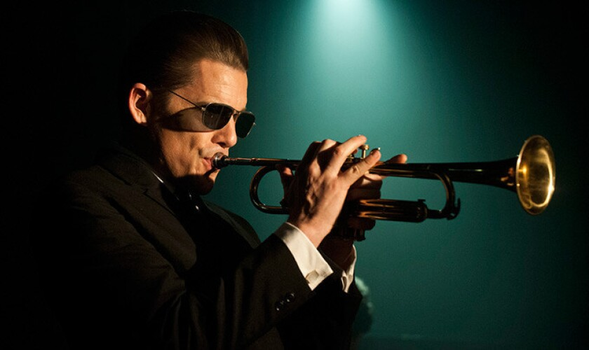 """Ethan Hawke plays jazz legend Chet Baker in """"Born to Be Blue,"""" which premiered this week at the Toronto International Film Festival."""