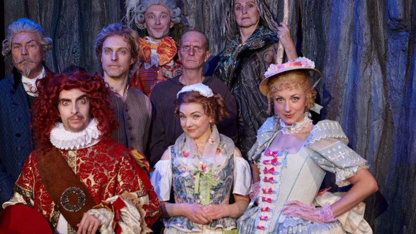 Cast of The Illusion