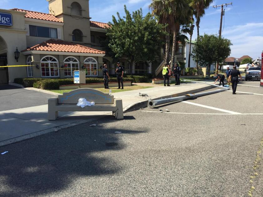 Pedestrian struck and killed by SUV in Costa Mesa