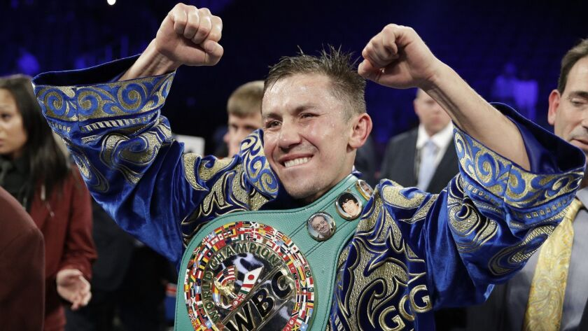 Gennady Golovkin joined DAZN's stable of fighters earlier this month.