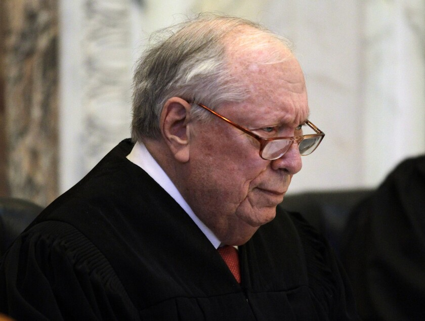 U.S. 9th Circuit Court of Appeals Judge Stephen Reinhardt in 2010.