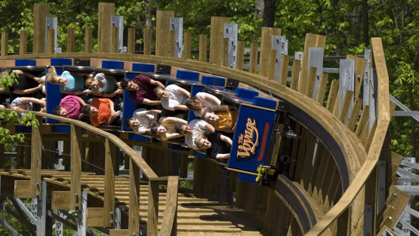 31) Wooden coaster