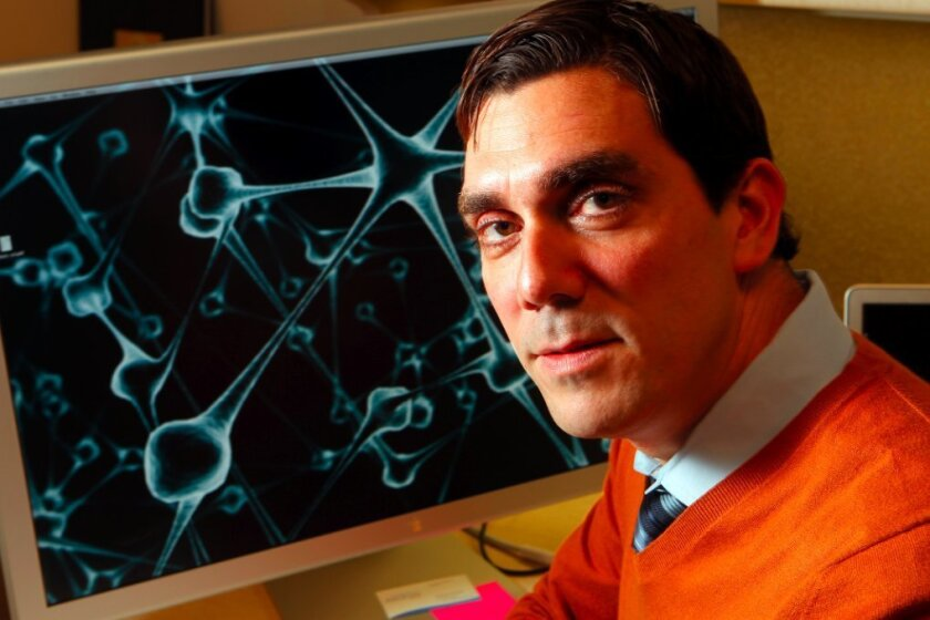 UC San Diego bioengineer Gabriel Silva.