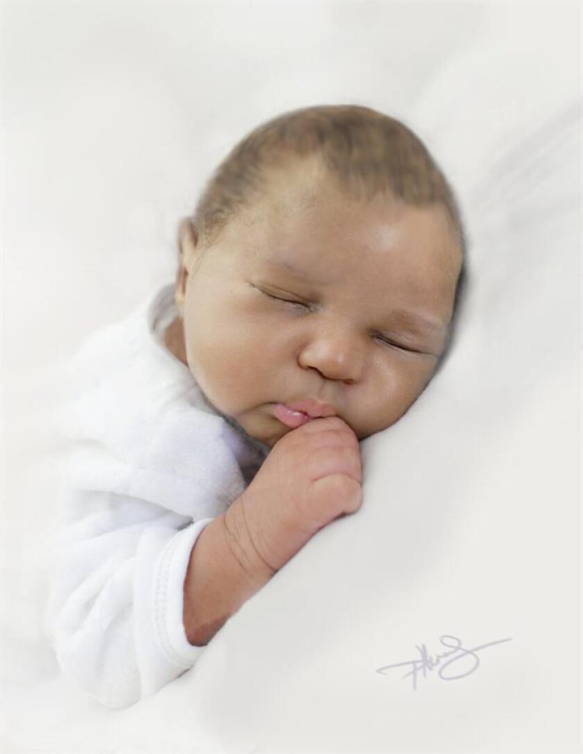 """Fotografía cedida por la Oficina del Sheriff de Palm Beach (PBSO) donde aparece """"Baby June"""", la recién nacida cuyo cuerpo sin vida fue hallado el 1 de junio pasado flotando en el mar cerca de la localidad de Boynton Beach (costa este de Florida). EFE/PBSO/SOLO USO EDITORIAL/NO VENTAS/ CRÉDITO OBLIGATORIO"""