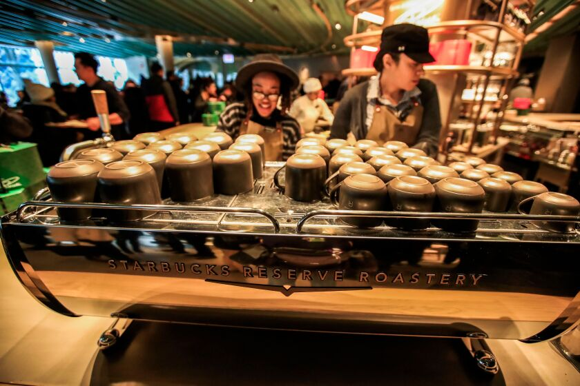 Starbucks Reserve Roastery grand opening in Chicago
