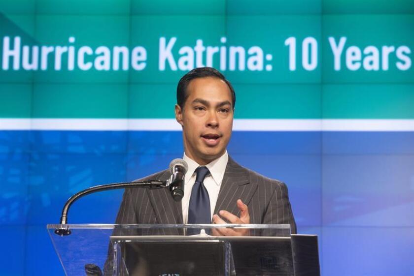 Fotografía de archivo del demócrata estadounidense Julián Castro. EFE/Archivo
