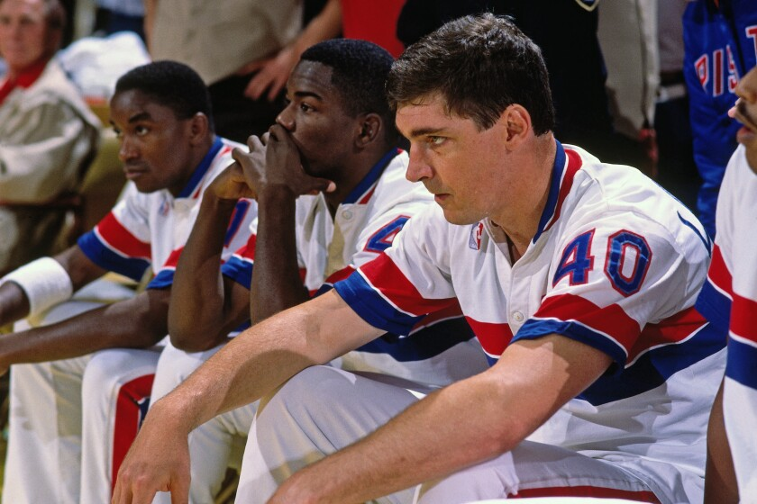 Even after the Bulls swept them in 1991, the Pistons refused to show the emerging dynasty respect.