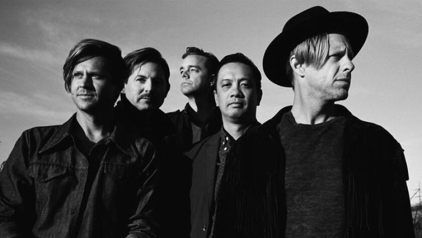 Members of the band Switchfoot. (Robbie Jeffers)