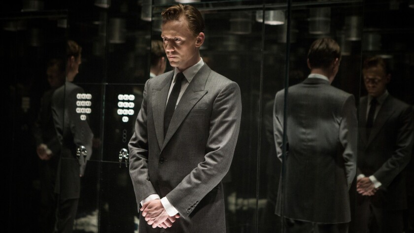"Tom Hiddleston plays Dr. Robert Laing in ""High-Rise."""