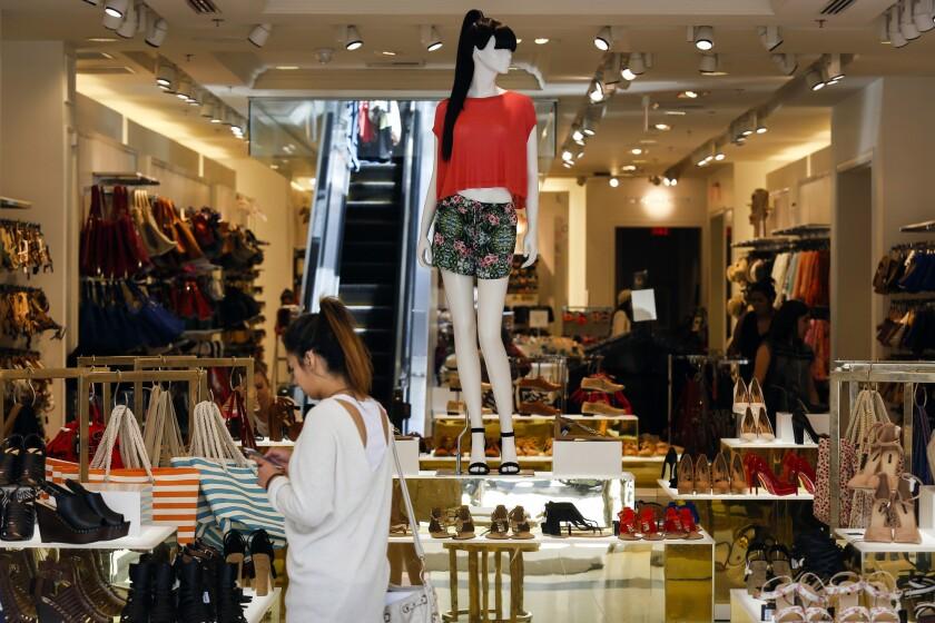 Retail sales fell in September.