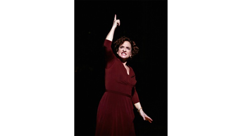 "Patti Lupone had a virtuosic moment in ""Rose's Turn."""