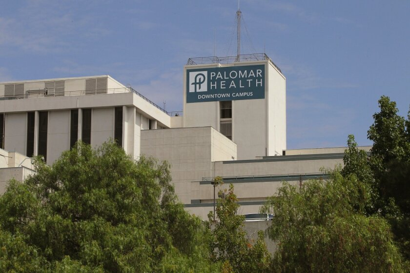 The old Palomar Hospital property in downtown Escondido could be sold soon to a private developer.