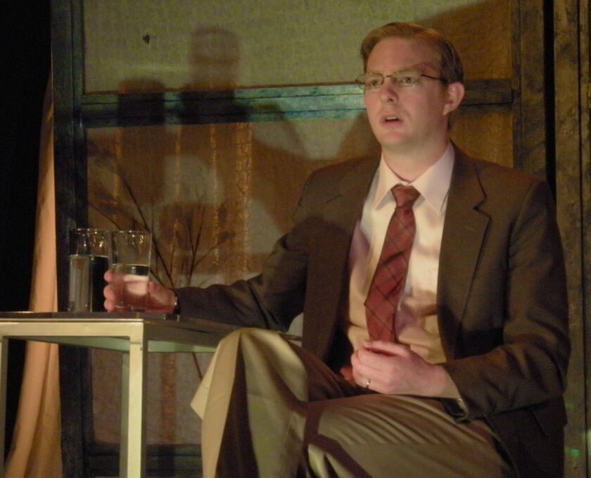 """Brian Mackey in Ion Theatre's """"Bash: Latter-Day Plays."""" Photo courtesy of Ion Theatre"""