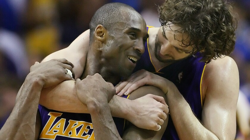 Preview: Pau Gasol visits Staples Center to face Lakers, Kobe Bryant