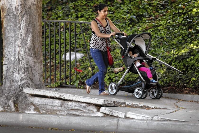 L.A. sidewalk repairs