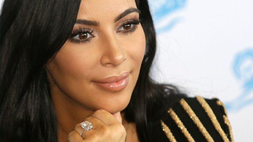 Kim Kardashian West in 2015.