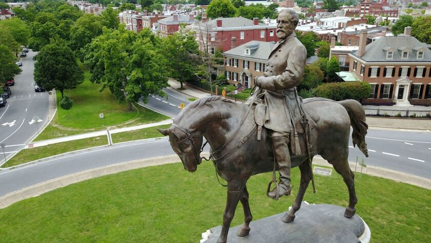 A judge has extended an injunction preventing Virginia Gov. Ralph Northam from removing a statue of Robert E. Lee.