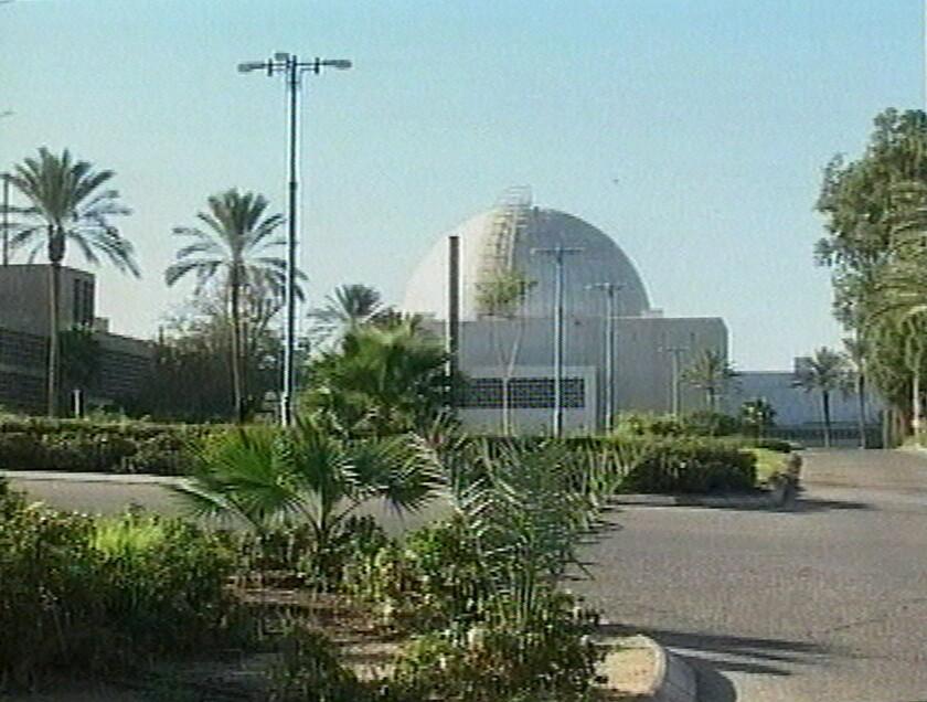 Esta imagen tomada de un video transmitido el 7 de enero del 2000 por el Canal 10 de la televisión israelí