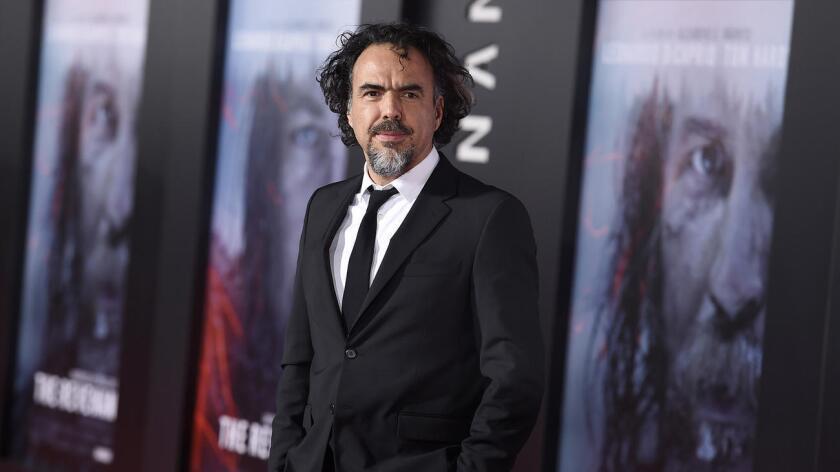Alejandro González Iñárritu, cineasta mexicano.