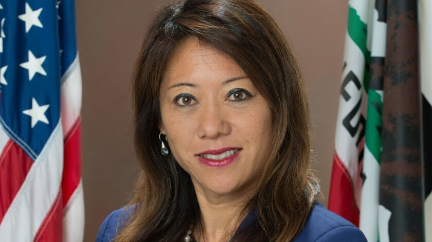 Fiona Ma is the 2nd District Board of Equalization (B.O.E.) board member, December 2, 2014. Her cou