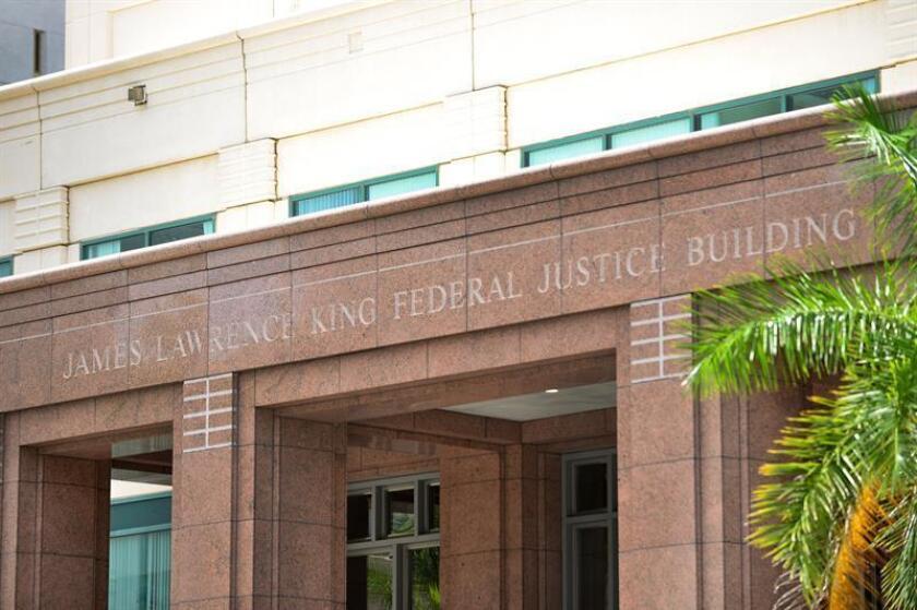 Vista del edificio de Justicia James L. King, ubicado en el Downtown de la ciudad de Miami, Florida (Estados Unidos). EFE/Archivo