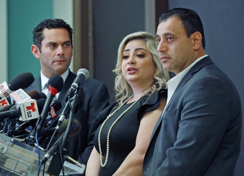 Photo Gallery: Glendale couple victims of local fertility clinic implantation error involving three couples