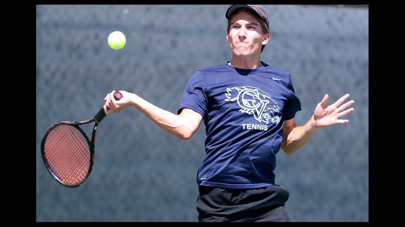 Photo Gallery: Crescenta Valley High boys tennis vs. West Torrance