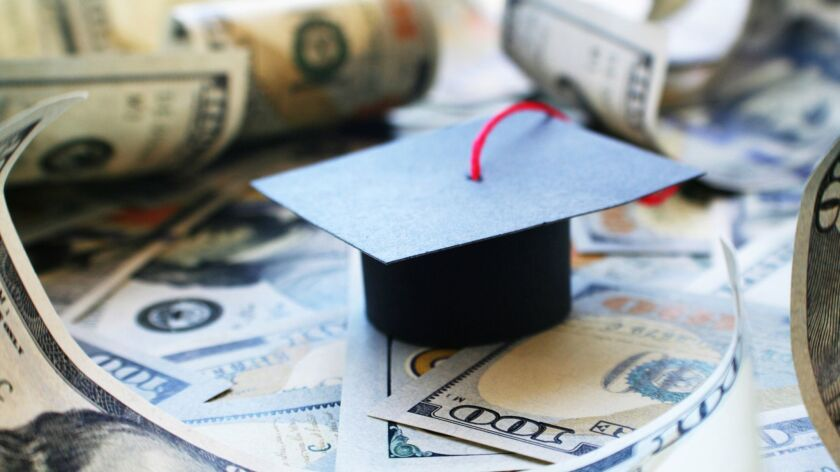 The student lending market has grown to more than $1 trillion in outstanding debt.
