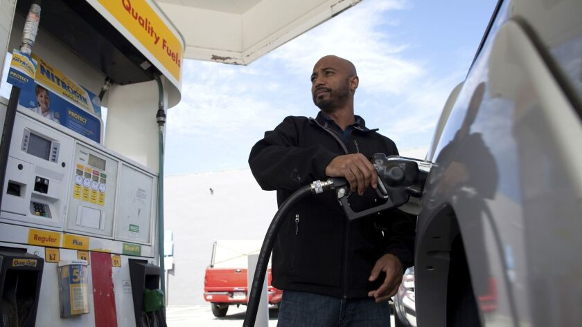 The rising price of crude oil is putting upward pressure on gasoline prices and GasBuddy predicts motorists will pay about 18 cents more per gallon in 2018.