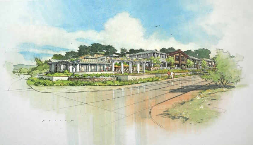 A rendering of Watermark Del Mar.