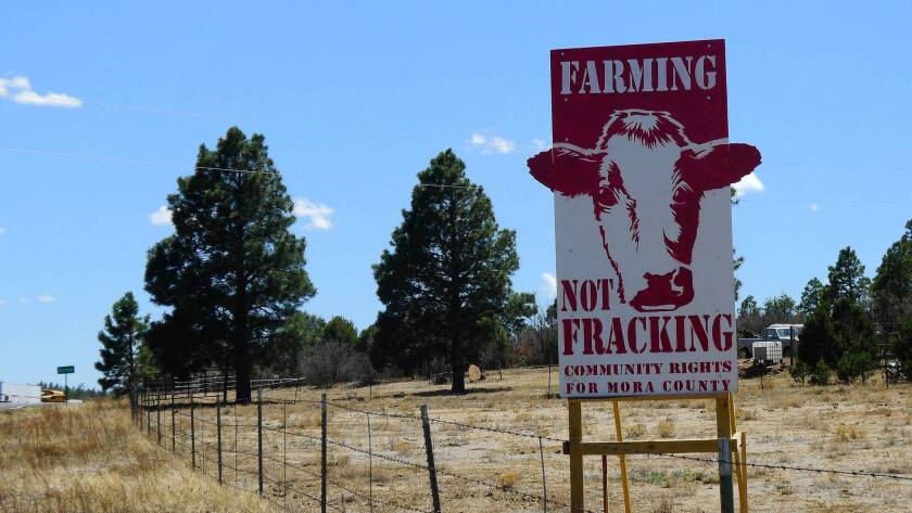 Tiny Mora County in northern New Mexico recently became the first county in the country to pass an ordinance banning hydraulic fracturing, the controversial oil extraction process known as fracking, which can release harmful chemicals in aquifers and municipal water supplies.