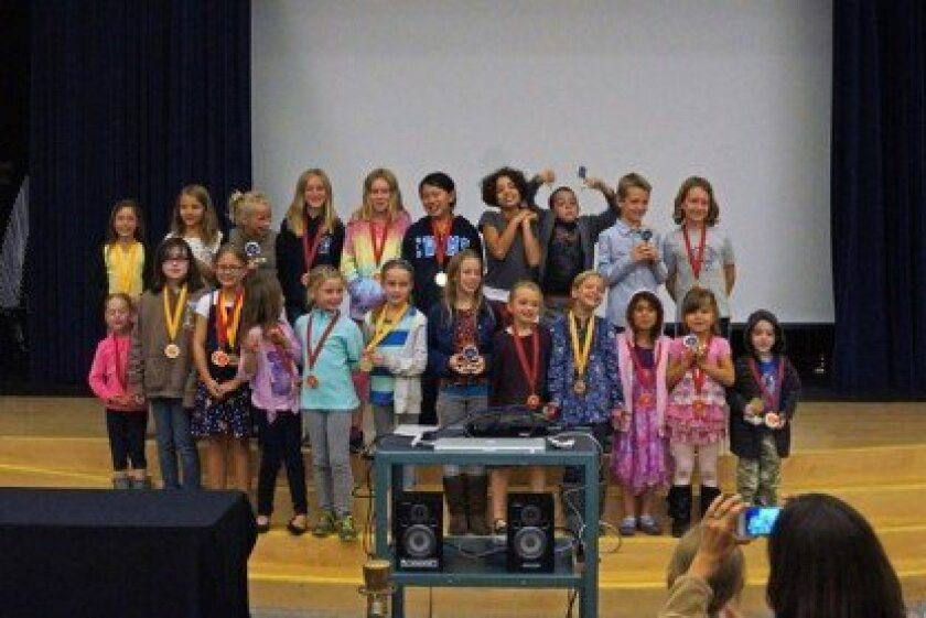 All Del Mar Hills Academy students who participated in Reflections were recognized for their contributions.