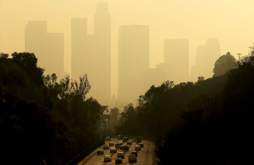"As two cities that have struggled with poor air quality, Los Angeles and Beijing have a ""visceral connection,"" Mayor Eric Garcetti said."