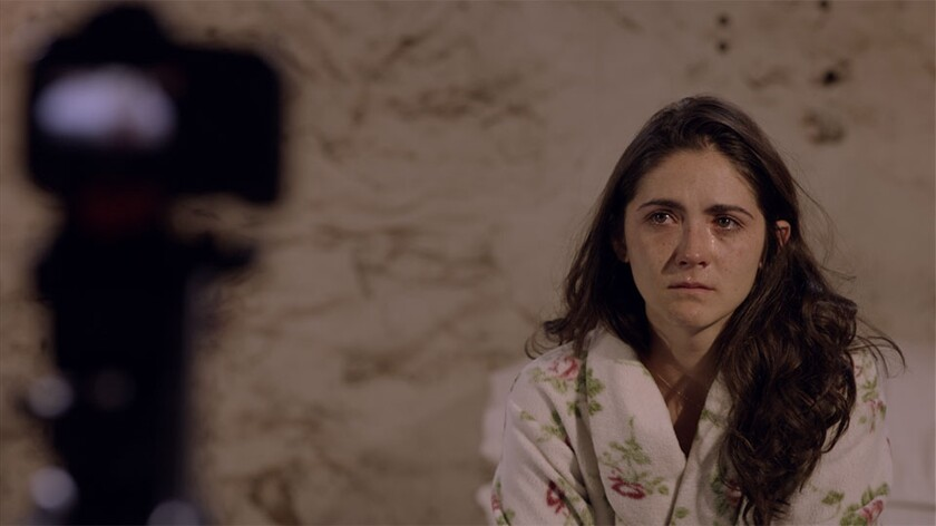 """Isabelle Fuhrman in """"Tape."""""""