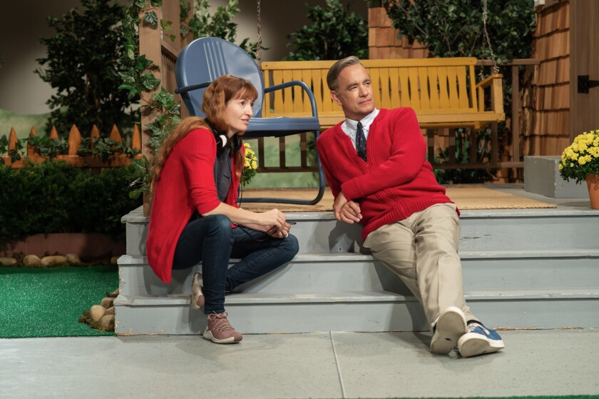 Why Tom Hanks New Mister Rogers Movie Isn T A Biopic Los Angeles Times
