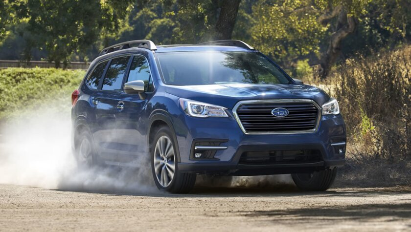 El nuevo Subaru Ascent