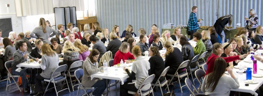 The gathering at La Jolla Elementary School on Jan. 18 marked the first time that different public schools in La Jolla brought their teachers together for professional development, Courtesy