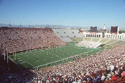 COLISEUM: USC's stomping ground.