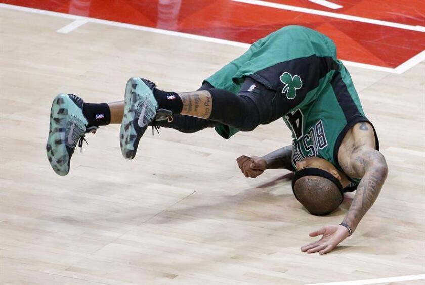 El base Isaiah Thomas de los Celtics de Boston. EFE/Archivo