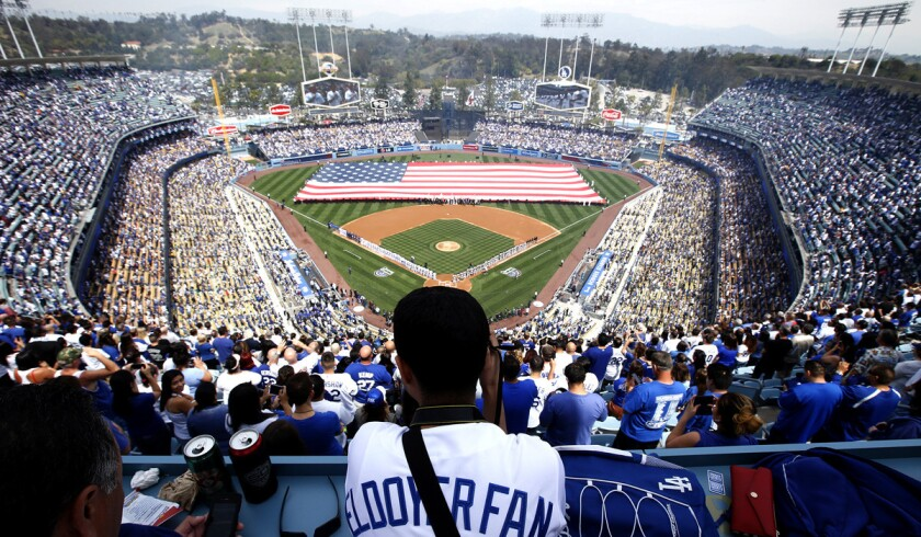 The Dodgers are reportedly negotiating to sell a minority share of the team to a group of South Korean investors.