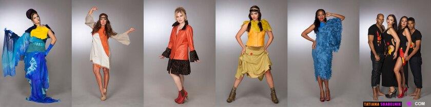 Images from Tatiana Shabelnik's design lookbook.