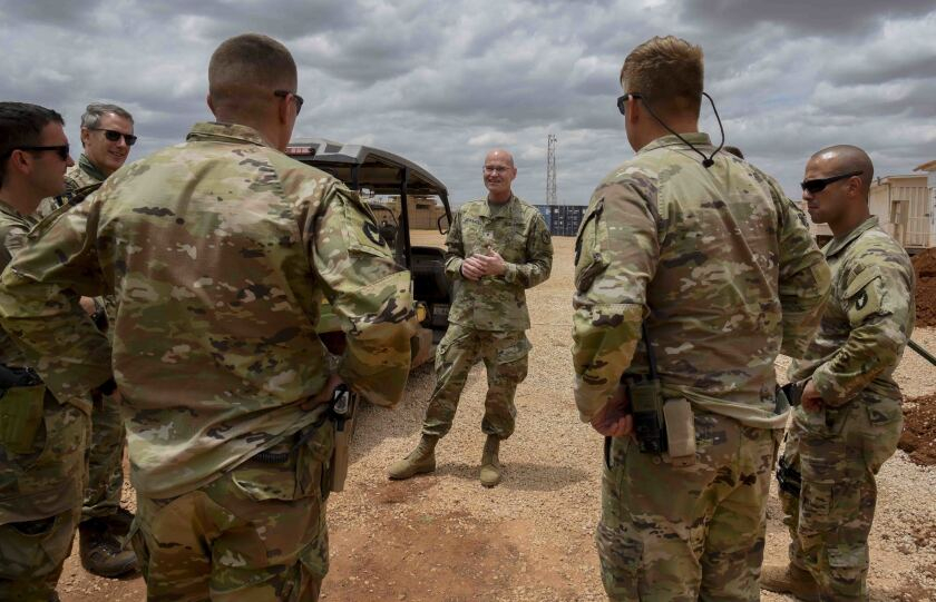 U.S. Army Brig. Gen. Damian T. Donahoe, deputy commanding general, Combined Joint Task Force — Horn of Africa
