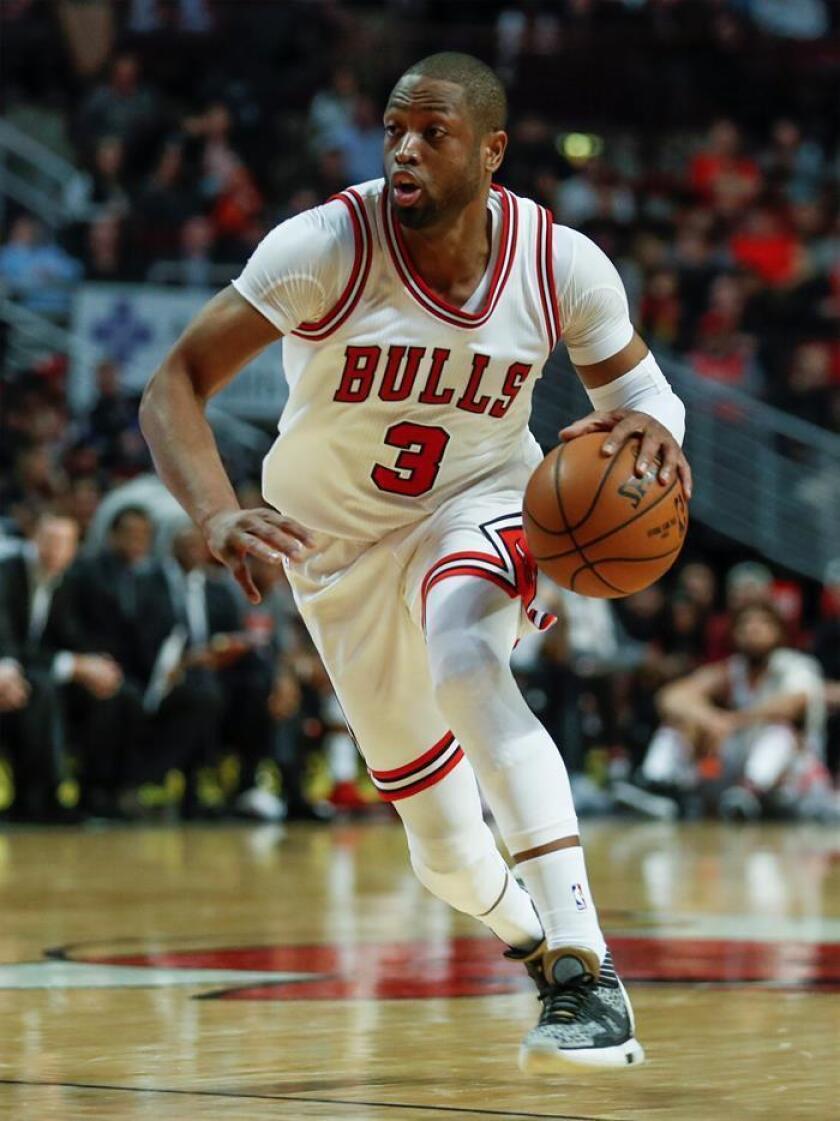 El escolta de los Bulls de Chicago Dwyane Wade. EFE/Archivo