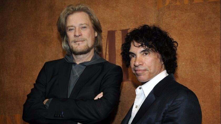 Daryl Hall (left) and John Oates have been musical partners since 1970.